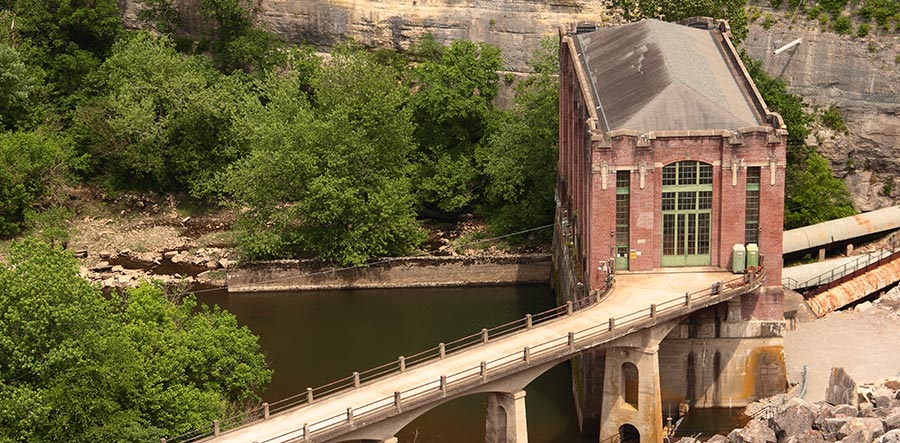 Dix Dam Hydroelectric Station