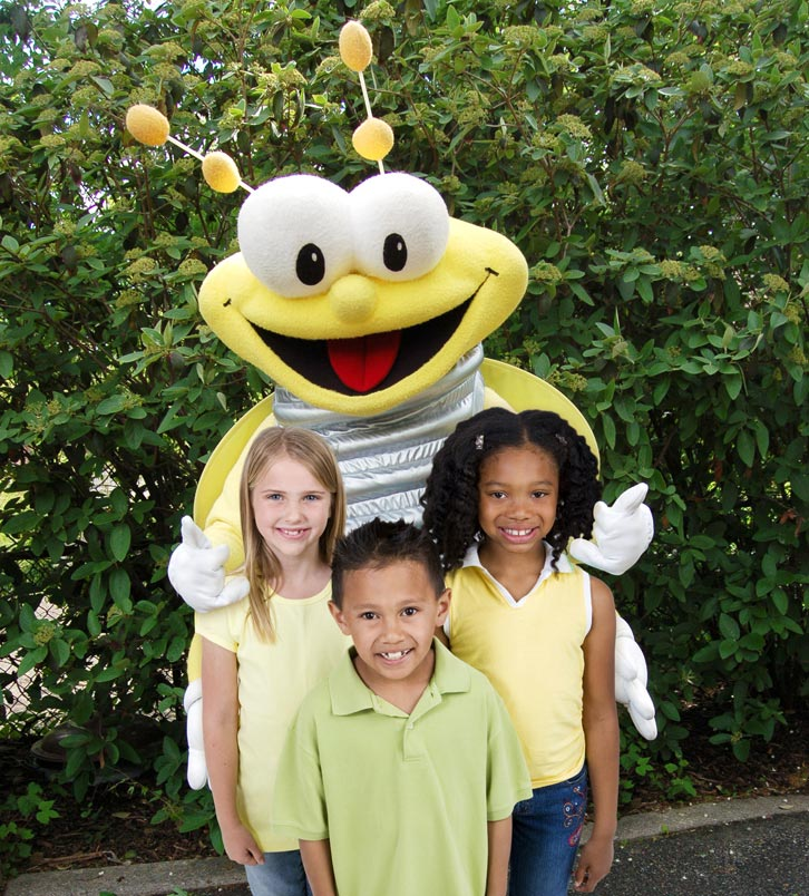 LG&E and KU mascot Louie the Lightning Bug