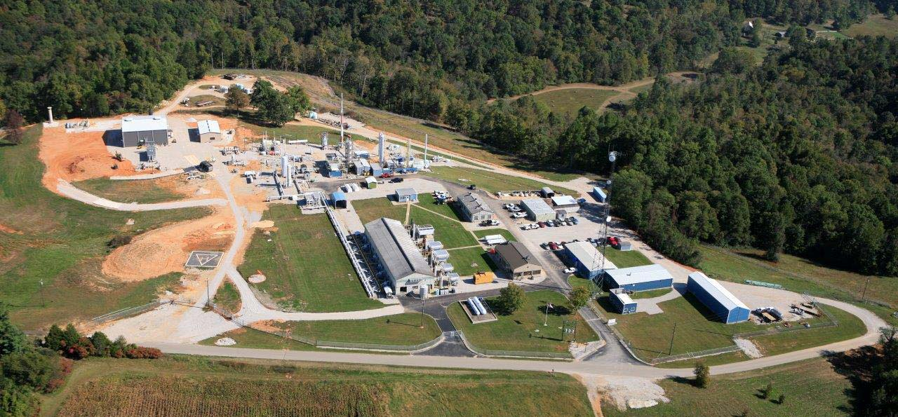 Magnolia Natural Gas Compressor Station is home to LG&E's new natural gas-powered vehicles
