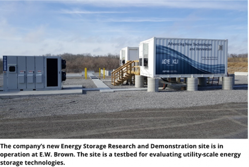 Energy storage research and demonstration site