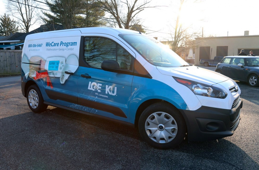 photo of a WeCare Program vehicle