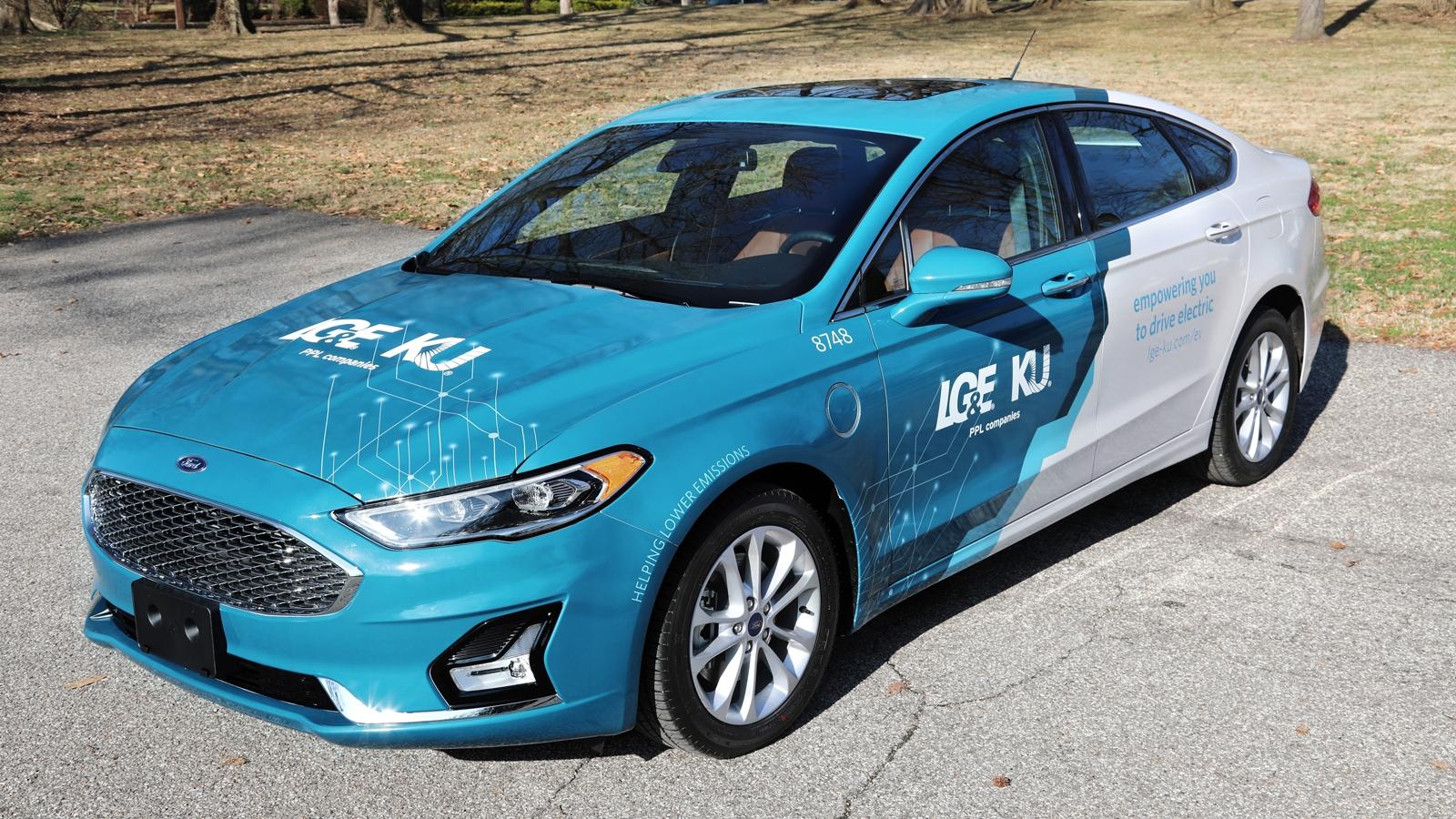 LG&E and KU Ford Fusion EV