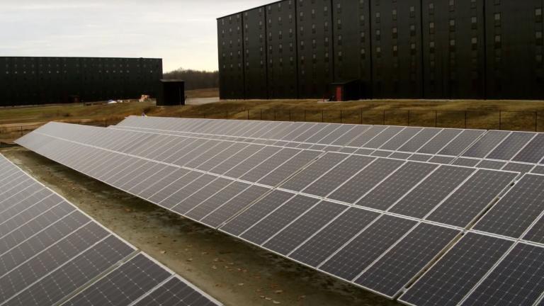 Maker's Mark - Solar Array Construction