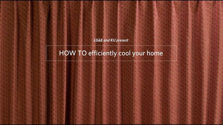 How to efficiently cool your home