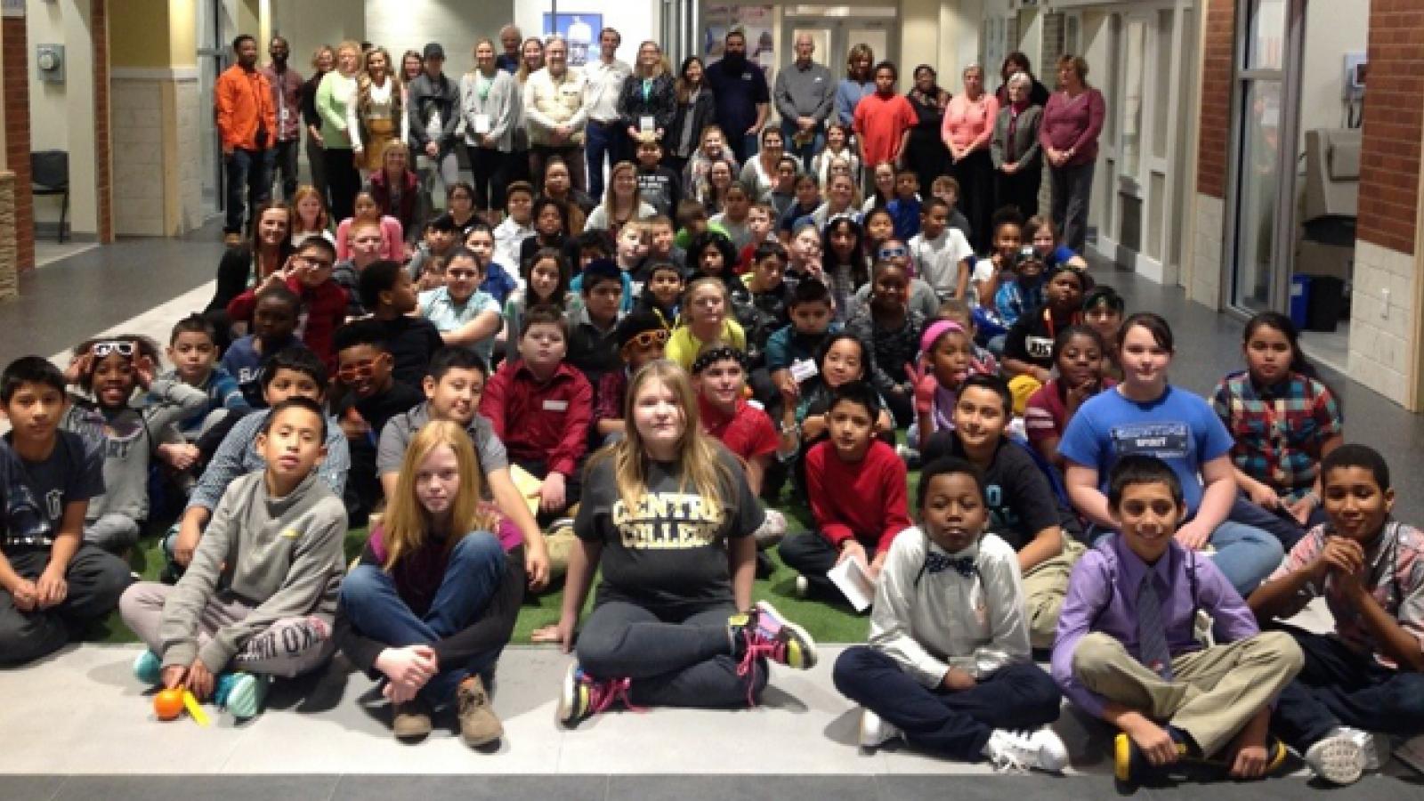 children from Junior Achievement of the Bluegrass