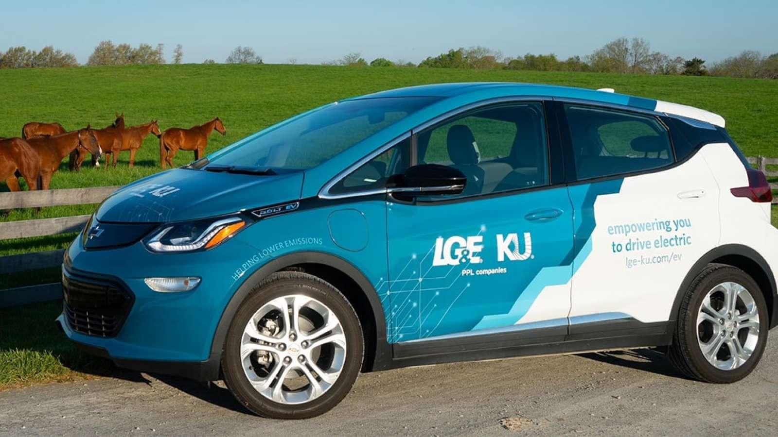 LG&E and KU EV vehical