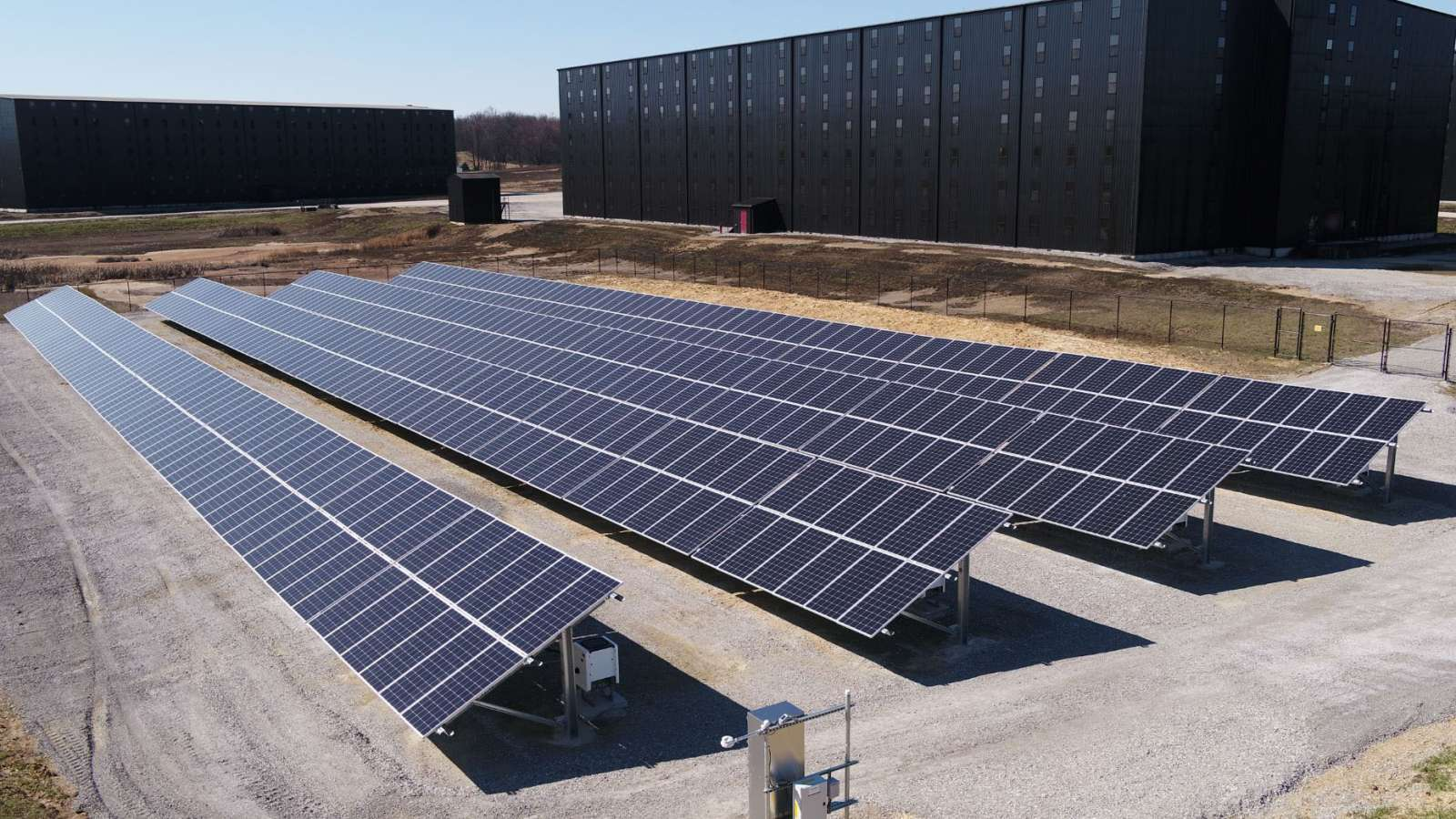 Makers Mark business solar installation