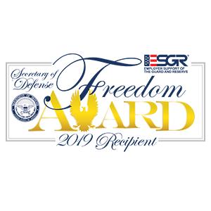 Freedom Award - 2019 Recipient logo