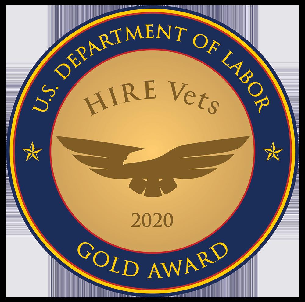 Hire Vets Gold Medallion 2020