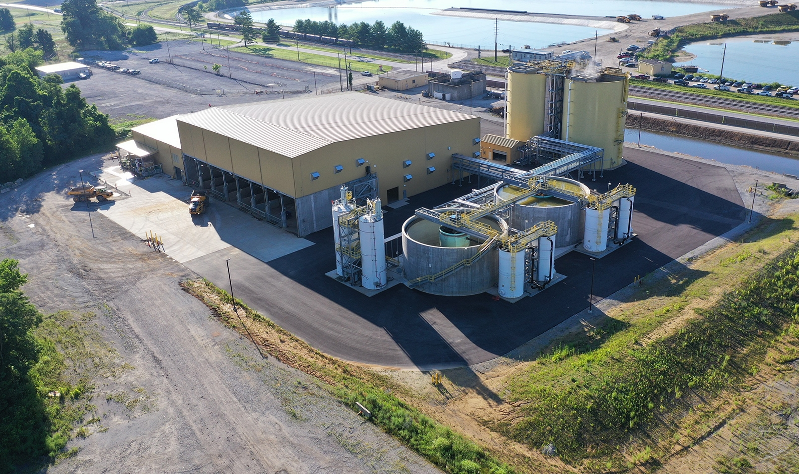 Ghent state-of-the-art water treatment facilities