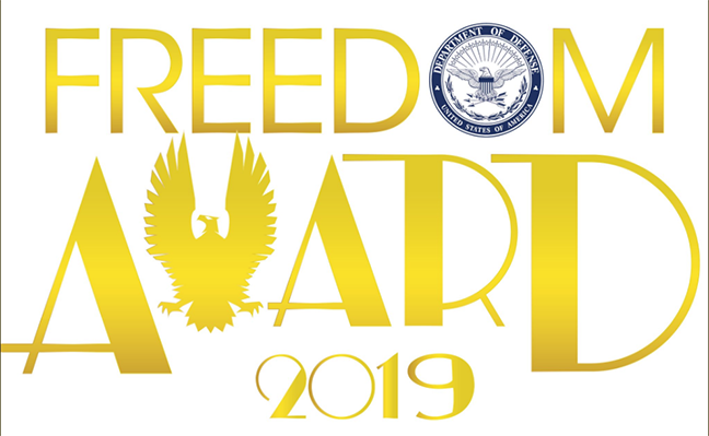 Freedom Award Logo