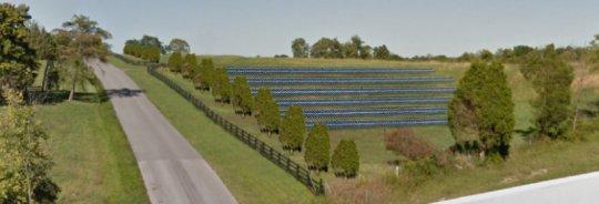 Solar Share field rendering
