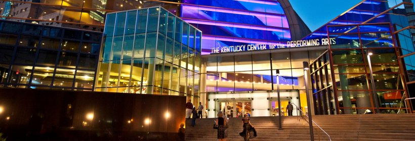 external view of Kentucky Center for the Arts