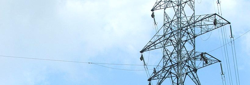 photo of transmission tower