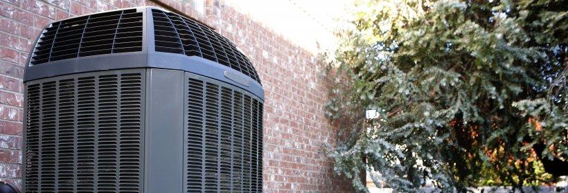 Outdoor compressor for HVAC