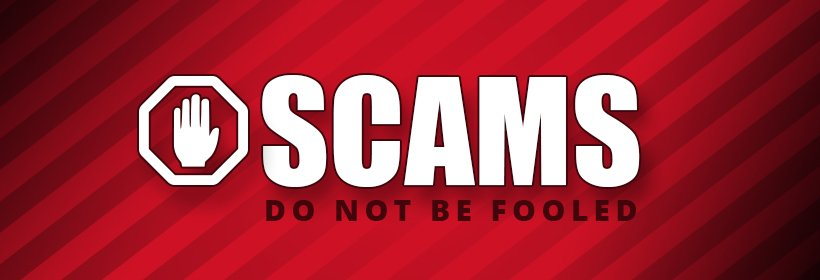 Scams banner